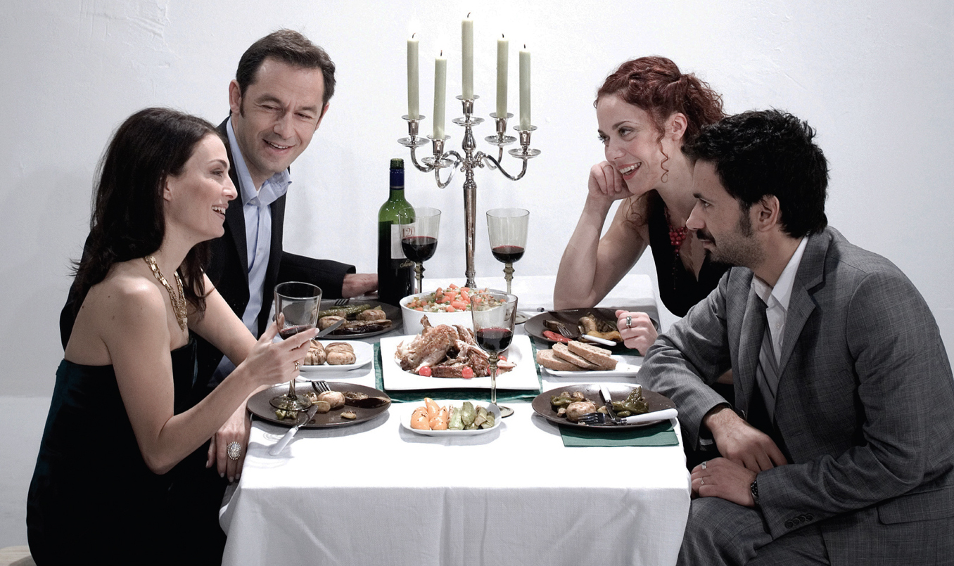 dinner with friends by donald margulies aliki danezi knutsen. Black Bedroom Furniture Sets. Home Design Ideas